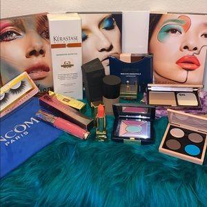 Make up bundle Ysl Giorgio Armani Mac lashes urban